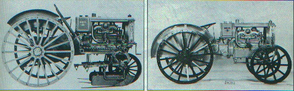 Oliver Chilled Plow models A and B